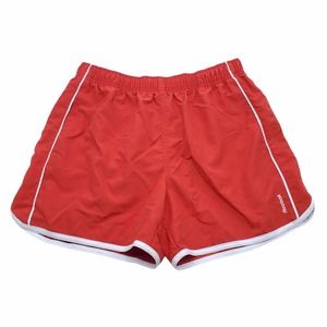 Reebok Women's Size Large Running Shorts Red with White Trim Activewear Shorts